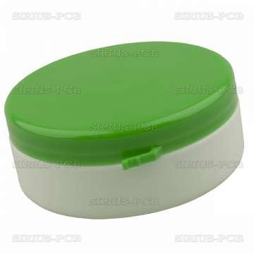 Пластмасова кутия 90mL. с капачка