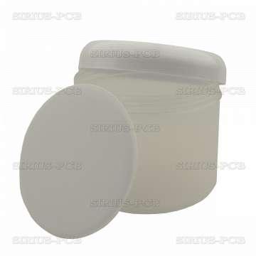 Пластмасова кутия 300mL. с подложка и капачка