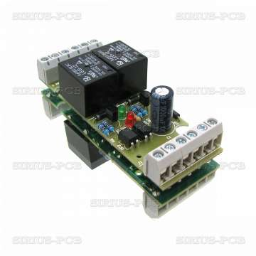 2 RELAY OPTO for PIC, AVR, CNC 12V
