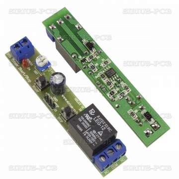 555 Старт Стоп таймер 12V от 0.5 до 490 секунди