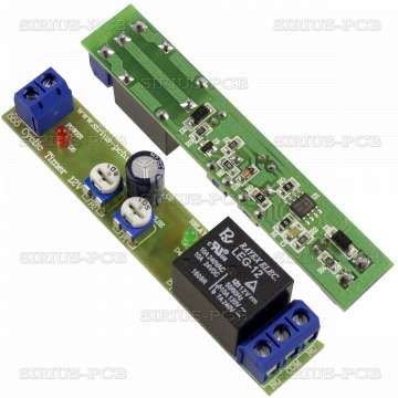 555 Цикличен таймер ON 1÷420сек. OFF 1÷15сек.