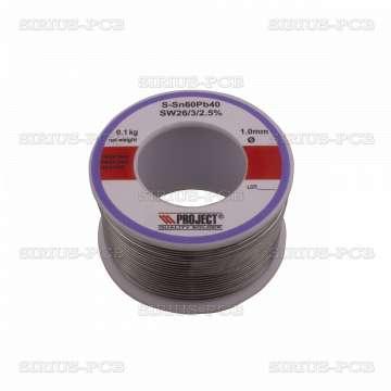 Тинол Sn60/Pb40 1.0mm 100g