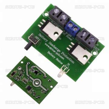 Защита срещу дълбок разряд на акумулатори Battery Discharge Protection