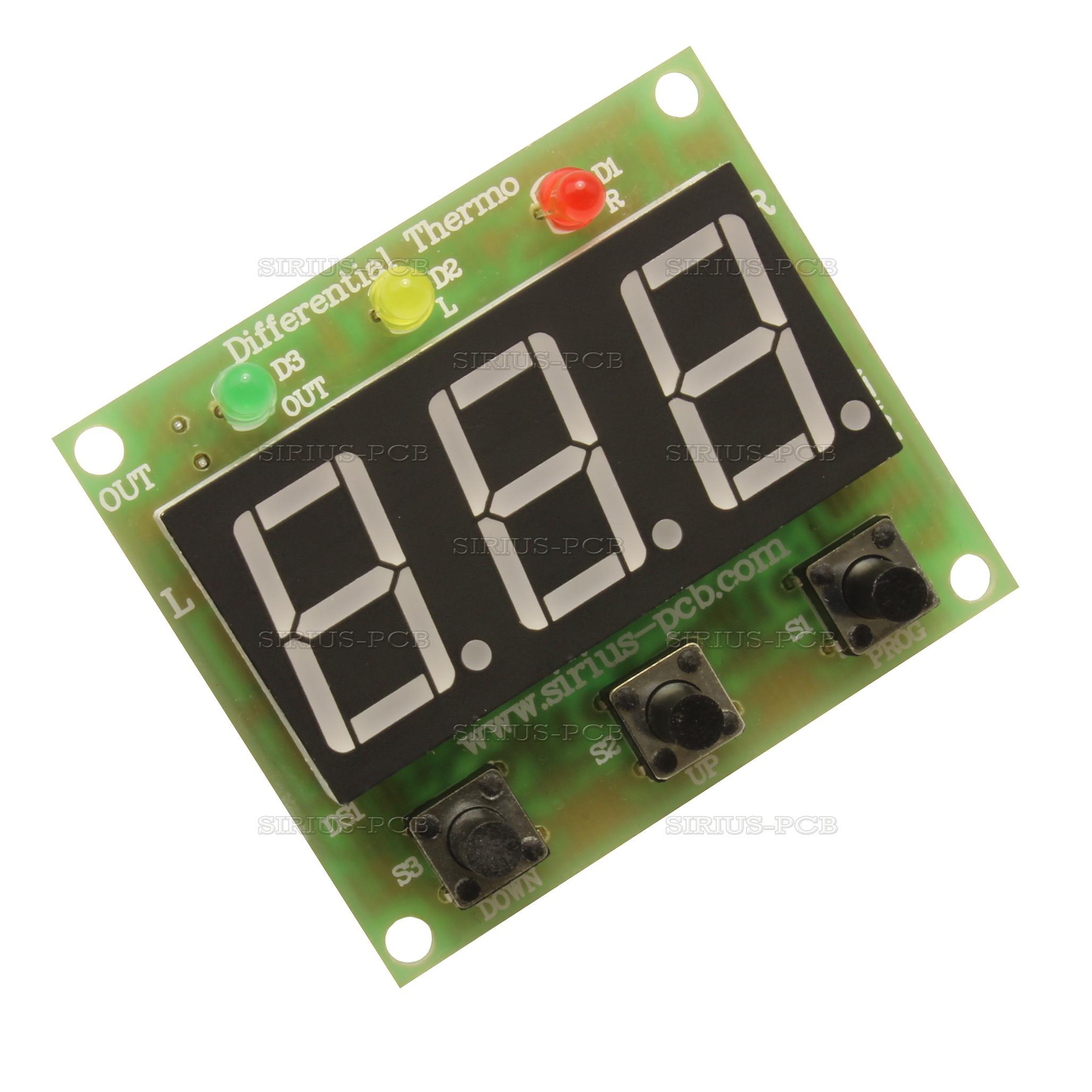 Дигитален диференциален терморегулатор