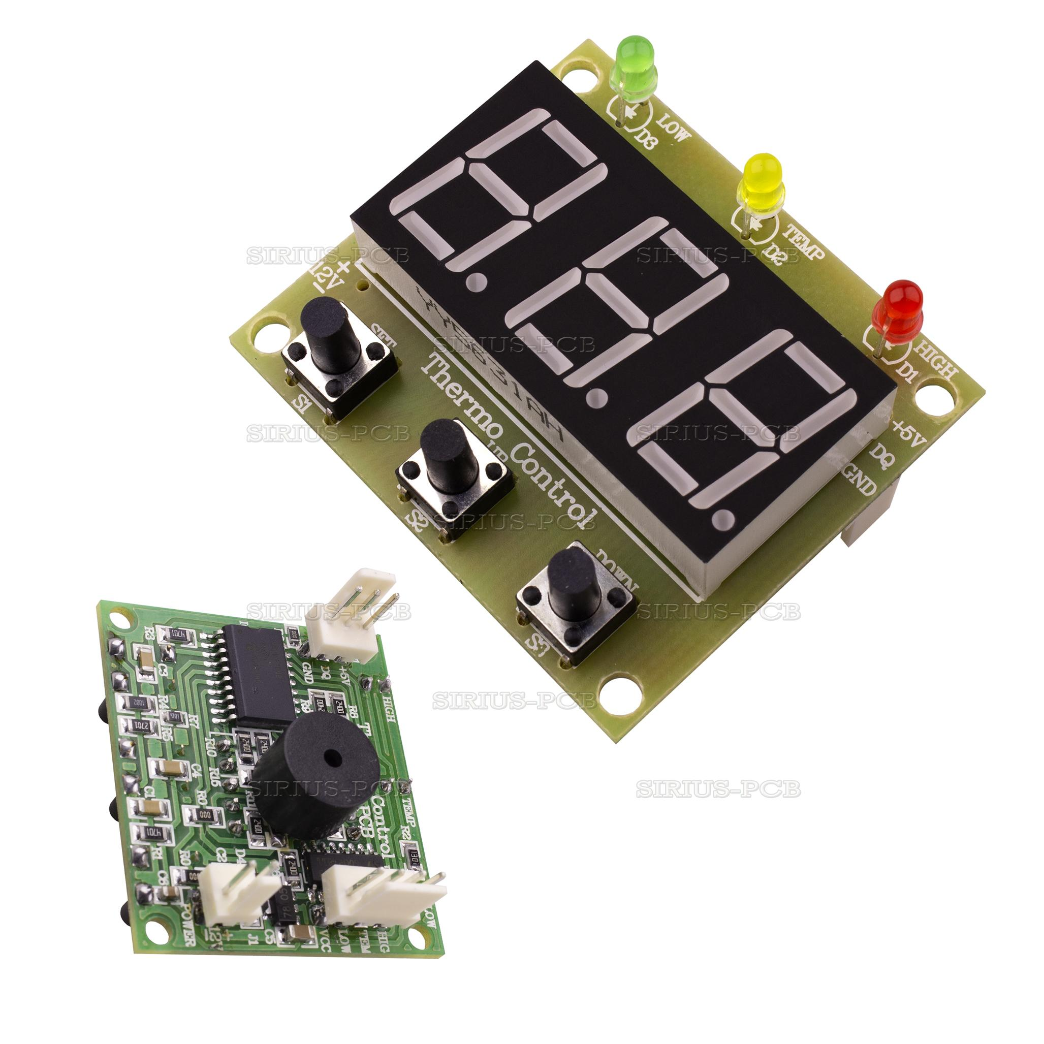Терморегулатор с две аларми и зумер Thermo Control 2-Alarm Buzzer