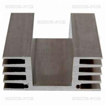 Алуминиев радиатор за охлаждане EV4 48.2x20mm