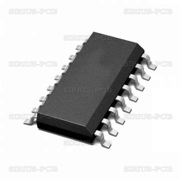 Интегрална схема CMOS 74HC165D; SO16
