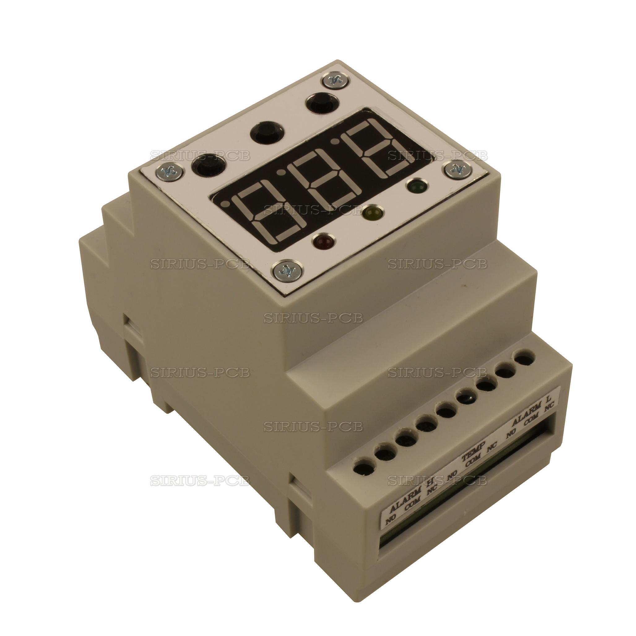 Терморегулатор Thermo Control 220V 3 Relay OUT BOX