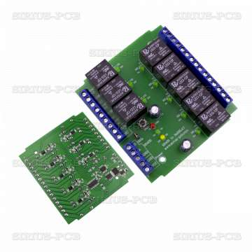 RS485 to 8xRelay 12V