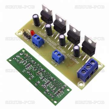Нискочестотен усилвател TDA2030 2x28W
