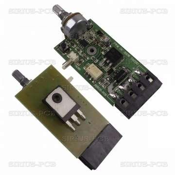 PWM DC MOTOR CONTROL 300W tacho с обратна връзка от постоянно токов тахогенератор