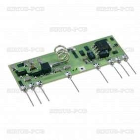 Приемник AM, BC-NBK /  AM, ASK /  433,92MHz /  -106dBm /  5VDC /  3mA