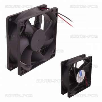 Вентилатор 12VDC 80x80x25mm 66m3/h 28dBA 2.16W