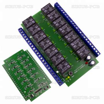 RS485 to 14xRelay 12V