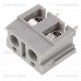 Клема TB-7.5-P-2P/GY; 2 PIN; 1.5mm2; 7.5mm; 16A