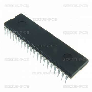 PIC Микроконтролер PIC16F887-I/P / DIP40