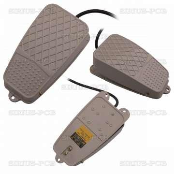 Педал превключвател FS-3 / 250VAC / 10A / SPDT / NO+NC