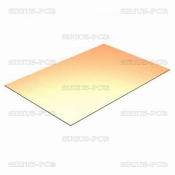 Едностранно фолиран стъклотекстолит FR4-0/35-1.5mm; 50cm-ширина