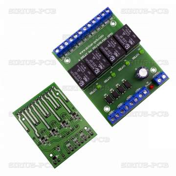4 RELAY OPTO for PIC, AVR, CNC 5V
