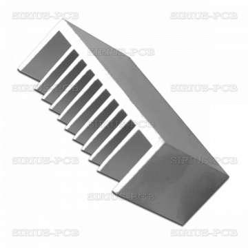 Алуминиев радиатор за охлаждане EV1 84x30mm