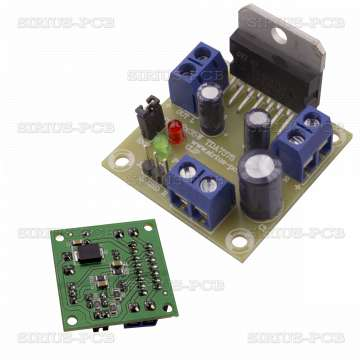 Нискочестотен усилвател TDA7375 2x35W