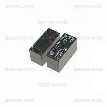 Реле електромагнитно JQX-115F; 24VDC; 5A/250VAC