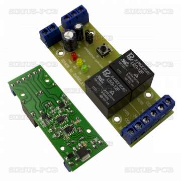 RS485 to 2xRelay 12V