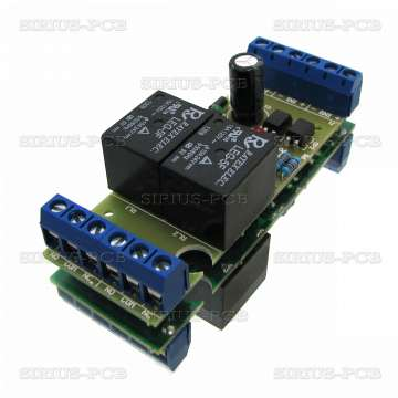 2 RELAY OPTO for PIC, AVR, CNC 5V