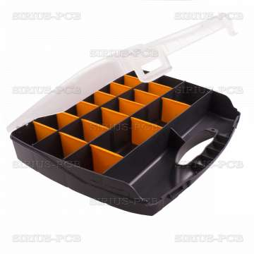 Кутия органайзер XG-3 / 320х265х50mm / черна