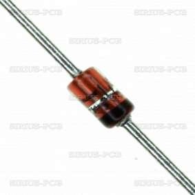 Диод импулсен 1N4148 / 100V / 0.15A / DO35