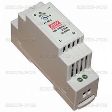 Импулсен захранващ блок DR-15-24 / 24VDC 15.2W 0.63A