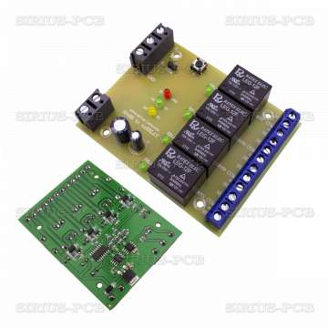 RS485 to 4xRelay 12V